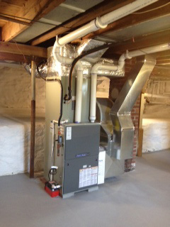 New furnace installed in East Peoria