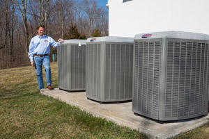 High-efficiency air conditioning in Peoria