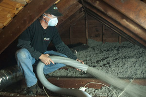 Cellulose Insulation Installation In Central Illinois