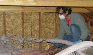 Fiberglass insulation installed Illinois